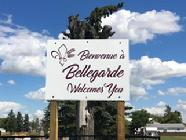 Bellegarde Welcome Sign